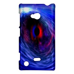 Blue Red Eye Space Hole Galaxy Nokia Lumia 720 by Mariart