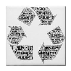Recycling Generosity Consumption Face Towel