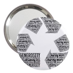 Recycling Generosity Consumption 3  Handbag Mirrors