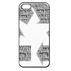 Recycling Generosity Consumption Apple Iphone 5 Seamless Case (black)