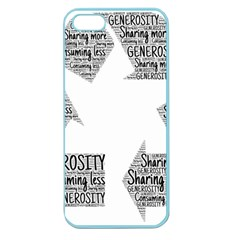 Recycling Generosity Consumption Apple Seamless Iphone 5 Case (color)