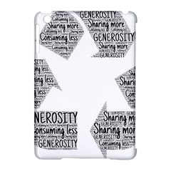 Recycling Generosity Consumption Apple Ipad Mini Hardshell Case (compatible With Smart Cover) by Nexatart