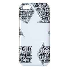 Recycling Generosity Consumption Apple Iphone 5 Premium Hardshell Case