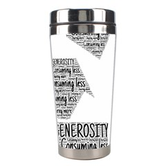 Recycling Generosity Consumption Stainless Steel Travel Tumblers