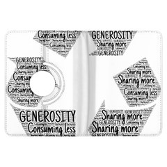 Recycling Generosity Consumption Kindle Fire Hdx Flip 360 Case
