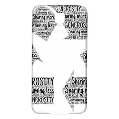 Recycling Generosity Consumption Samsung Galaxy S5 Back Case (white)