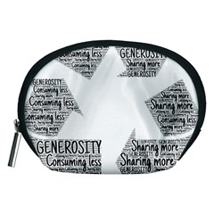 Recycling Generosity Consumption Accessory Pouches (medium)