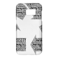 Recycling Generosity Consumption Samsung Galaxy S7 Hardshell Case