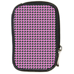 Pattern Grid Background Compact Camera Cases