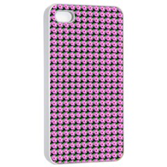 Pattern Grid Background Apple Iphone 4/4s Seamless Case (white)