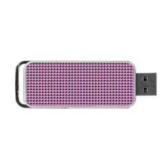Pattern Grid Background Portable Usb Flash (two Sides) by Nexatart