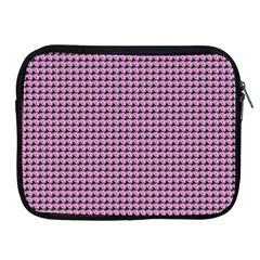 Pattern Grid Background Apple Ipad 2/3/4 Zipper Cases