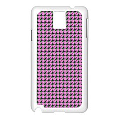 Pattern Grid Background Samsung Galaxy Note 3 N9005 Case (white)