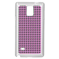 Pattern Grid Background Samsung Galaxy Note 4 Case (white)