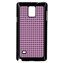 Pattern Grid Background Samsung Galaxy Note 4 Case (black)