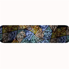 Multi Color Tile Twirl Octagon Large Bar Mats by Nexatart