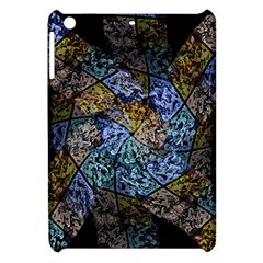 Multi Color Tile Twirl Octagon Apple Ipad Mini Hardshell Case by Nexatart
