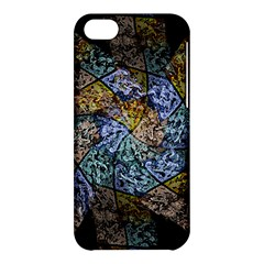 Multi Color Tile Twirl Octagon Apple Iphone 5c Hardshell Case by Nexatart