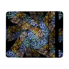 Multi Color Tile Twirl Octagon Samsung Galaxy Tab Pro 8 4  Flip Case by Nexatart