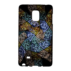 Multi Color Tile Twirl Octagon Galaxy Note Edge by Nexatart