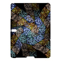 Multi Color Tile Twirl Octagon Samsung Galaxy Tab S (10 5 ) Hardshell Case  by Nexatart