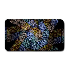 Multi Color Tile Twirl Octagon Medium Bar Mats