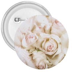 Pastel Roses Antique Vintage 3  Buttons by Nexatart