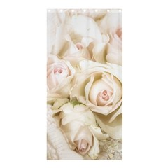 Pastel Roses Antique Vintage Shower Curtain 36  X 72  (stall)