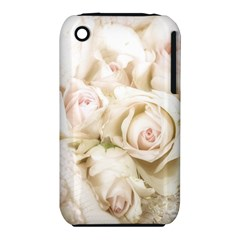 Pastel Roses Antique Vintage Iphone 3s/3gs by Nexatart