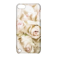 Pastel Roses Antique Vintage Apple Ipod Touch 5 Hardshell Case With Stand