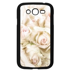 Pastel Roses Antique Vintage Samsung Galaxy Grand Duos I9082 Case (black) by Nexatart