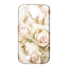 Pastel Roses Antique Vintage Samsung Galaxy S4 Classic Hardshell Case (pc+silicone) by Nexatart