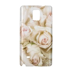 Pastel Roses Antique Vintage Samsung Galaxy Note 4 Hardshell Case