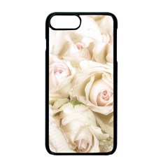 Pastel Roses Antique Vintage Apple Iphone 7 Plus Seamless Case (black)
