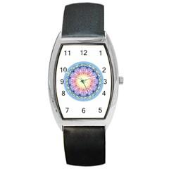 Mandala Universe Energy Om Barrel Style Metal Watch