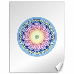 Mandala Universe Energy Om Canvas 12  X 16   by Nexatart