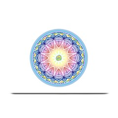 Mandala Universe Energy Om Plate Mats by Nexatart