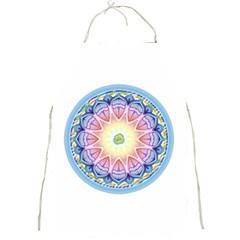 Mandala Universe Energy Om Full Print Aprons