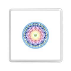 Mandala Universe Energy Om Memory Card Reader (square)