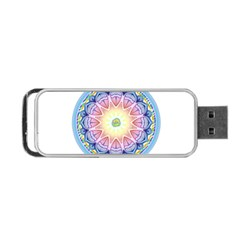Mandala Universe Energy Om Portable Usb Flash (two Sides)