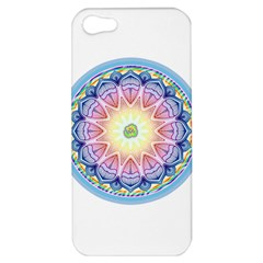 Mandala Universe Energy Om Apple Iphone 5 Hardshell Case