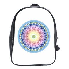 Mandala Universe Energy Om School Bag (xl)