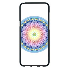 Mandala Universe Energy Om Samsung Galaxy S8 Plus Black Seamless Case