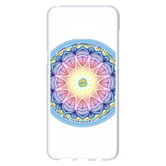 Mandala Universe Energy Om Samsung Galaxy S8 Plus White Seamless Case