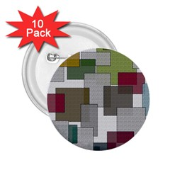 Decor Painting Design Texture 2 25  Buttons (10 Pack)