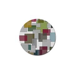 Decor Painting Design Texture Golf Ball Marker