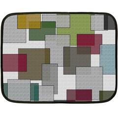 Decor Painting Design Texture Fleece Blanket (mini)