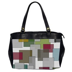Decor Painting Design Texture Office Handbags (2 Sides)