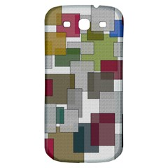 Decor Painting Design Texture Samsung Galaxy S3 S Iii Classic Hardshell Back Case by Nexatart