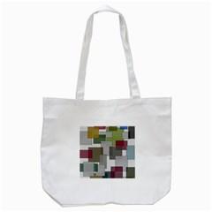 Decor Painting Design Texture Tote Bag (white)